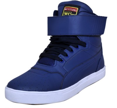 West Code Men's Synthetic Leather Casual Shoes 7071-Blue-6 Casuals