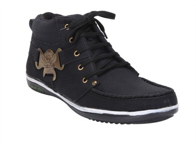 Quarks Side Buckle Casual Shoes