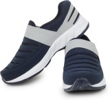 Acto Navy Blue & Grey Men Running Shoes ...