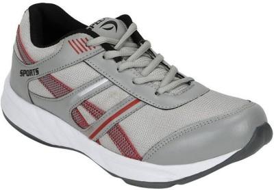 Rexel Spelax Running Shoes(Red, Grey) at flipkart