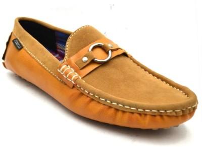 Zoot24 Tan Loafers(Tan)
