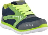 Athlio Running Shoes (Blue, Green)