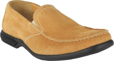Salt N Pepper 15-387 Askme Yellow Loafers Loafers