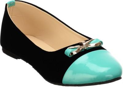 Calliebrown Callie brown trendy stylish turquoise black ballerinas Bellies
