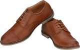 Real Blue BROUGE SHOES (Tan)