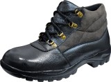 Feetway Genuine Leather Steel Toe High A...