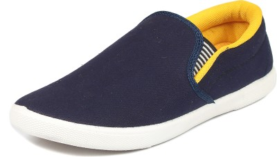 NAVCHETAN MJRPLAIN-Yellow Loafers