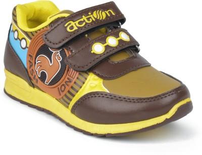 Action KS-565-BROWN Walking Shoes