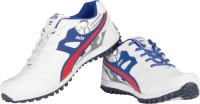 Ros 1064 White RBlue Walking Shoes