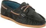 Famozi Boat Shoes (Green)