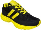 Hitmax Zoom YBL Running Shoes (Black)