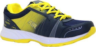 Stepin Soles Stricker-16 Yellow/Blue Running Shoes
