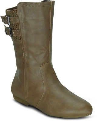 Get Glamr JENNY Boots(Tan)