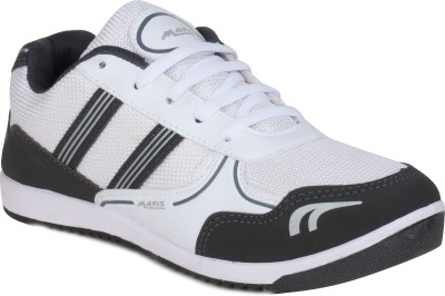 Histeria Hobb White & Grey Running Shoes