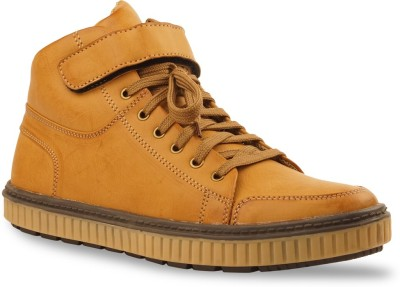 Bacca Bucci Men tan Sneakers(Tan)