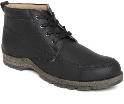 Roadster Outdoor Shoes(Black) at flipkart