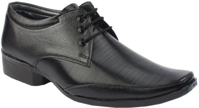 Axam Black Lace Up Shoes