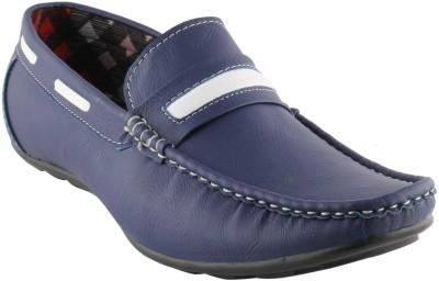 Smart wood 202 BLUE Loafers