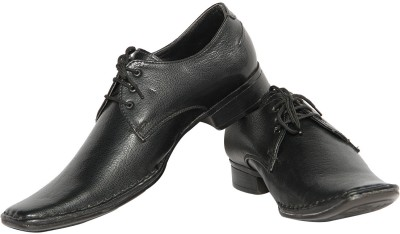 Swagger Leather Lace Up