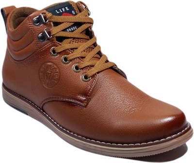 WBH Field Care Brown Long Boots
