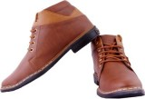 ANAV Boots (Tan, Brown)