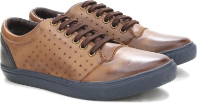 Knotty Derby Lockhart Punched Sneaker Sneakers(Brown)