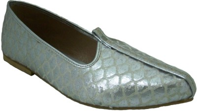 Senso Vegetarian Shoes Silver Jutis