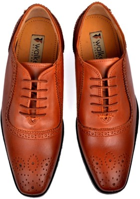 Walker Styleways Exquisite Oxford Brogue Lace Up Shoes