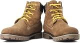 High Sierra Boots (Brown, Yellow)