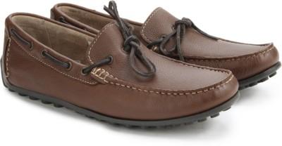 Clarks Kolin Free Tan Leather Loafers
