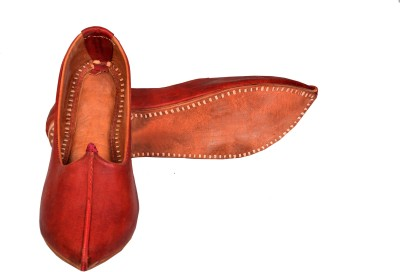 Skill India MenS Leather Mojaris