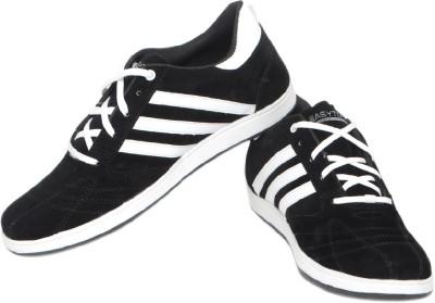 Pede Milan Enfield-Black Casual Shoes