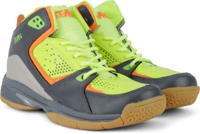 Stag Hoop Basketball Shoes(Green, Grey, Orange)
