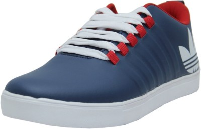 Black Tiger Black Tiger Men's Synthetic Leather Casual Shoes 8061-Blue-9 Casuals