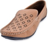 Fraction Loafers (Tan)