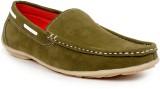 Msama Loafers (Green)