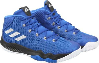 Adidas CRAZY HUSTLE Basketball Shoes(Blue)