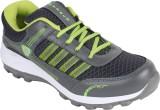 Hytech Running Shoes (Grey, Green)