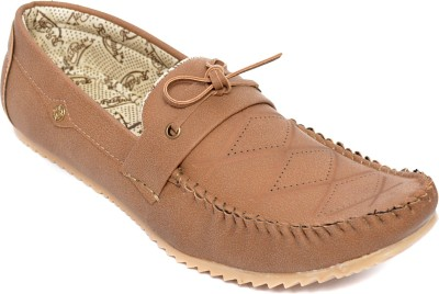 Kamil Beige Boat Shoes