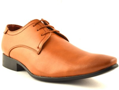 Zoot24 Tan Formal Shoes Lace Up