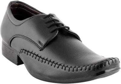 Smart wood 1801 Black Lace Up Shoes