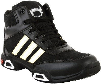 Hillsvog Basketball Shoes(Black)