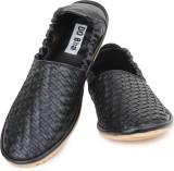 Do Bhai Loafers (Black)