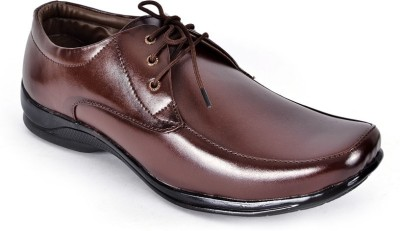 Shoes N Style Brown Formal-17 Lace Up Shoes