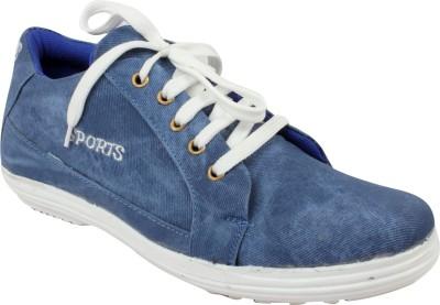 Gato Ocean Blue Denim Casual Shoes Canvas Shoes