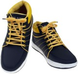 American Fits Sneakers (Black, Yellow)