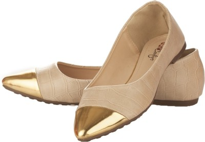 Vero Couture Dorsay Ivory Flat Bellies