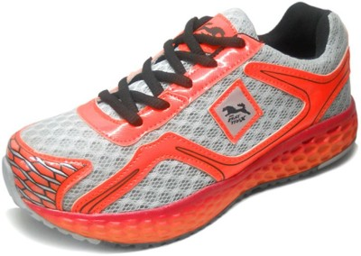 Fast Trax Light Red and Grey King Mens Running Shoes