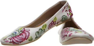 Al Artz Hand Painted Funky Casual Ballerina Shoes