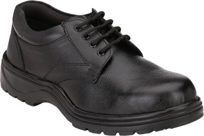 Afrojack Steel Toe Lace Up Shoes